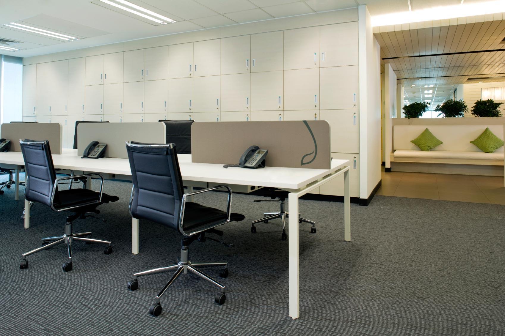 allestimento pareti attrezzate per ufficio