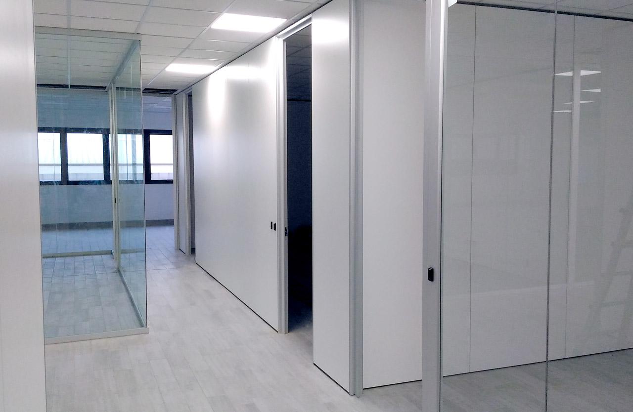 pareti divisorie per ufficio fipe system