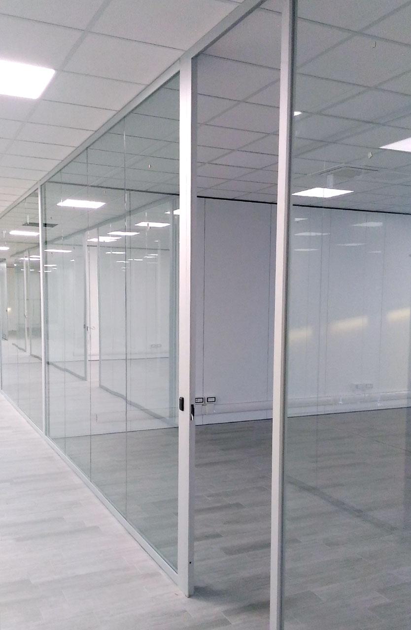 allestimento pareti per ufficio fipe system
