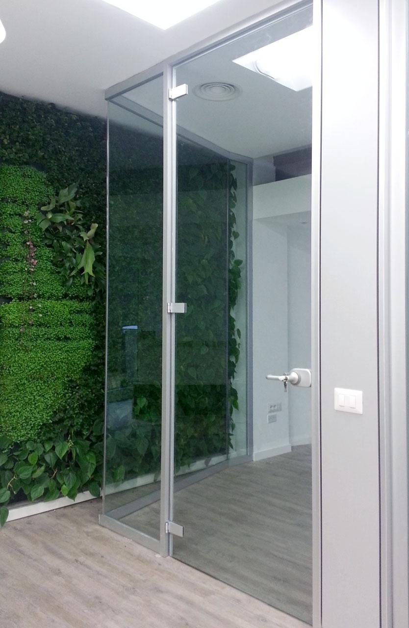 pareti in vetro per ufficio fipe system