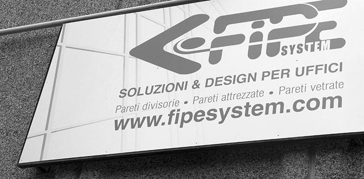 Produzione pareti divisorie per ufficio | Fipe System Milano